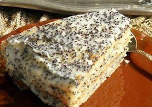 Сметанный крем для торта с маком