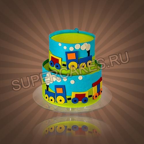 Торт на 3 годика мальчику