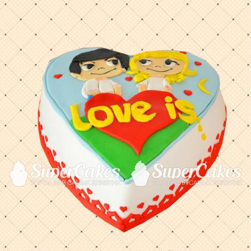 Как сделать торт love is
