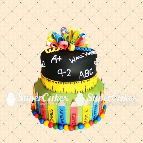 Обратившись к нам, Вы можете быть уверены, что торт на выпускной 11 класса или в детском саду будет приготовлен из...